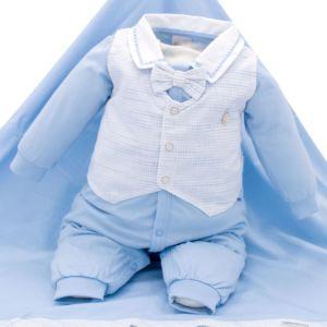 Saída de Maternidade Sonho Mágico Little Prince Malha Azul