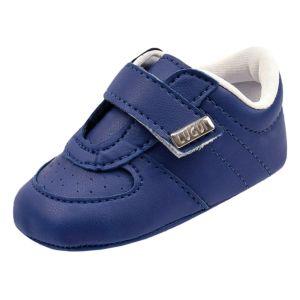 Tênis de Bebê Lugui Baby Menino Esporte Perfuros Marinho