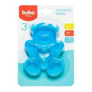 Mordedor para Bebê Buba Gelado com Água Ursinho Azul