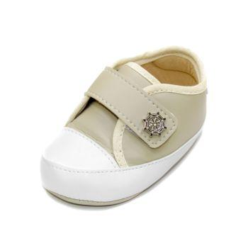 Tênis para Bebê Maguilu Marinheiro Marfim