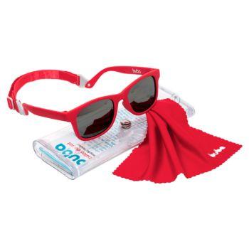 Óculos de Sol para Bebê Buba Alça Ajustável e Lenço Vermelho
