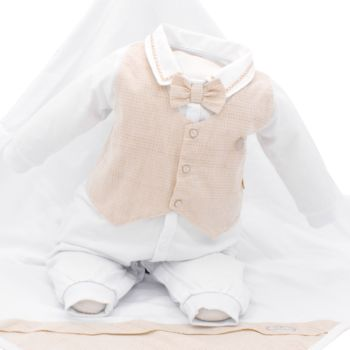 Saída de Maternidade Sonho Mágico Little Prince Malha Branco