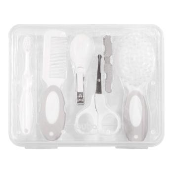 Kit Higiene Buba Cuidados para Bebê com Estojo Branco