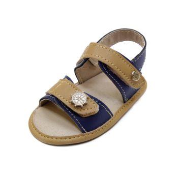 Sandália para Bebê Maguilu Marinheiro Azul Marinho