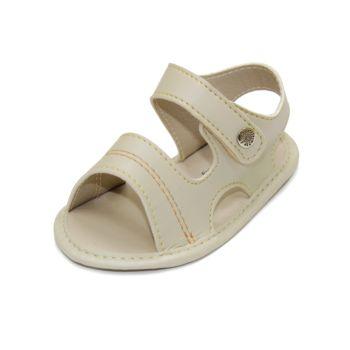 Sandália para Bebê Maguilu Zig Zag Marfim