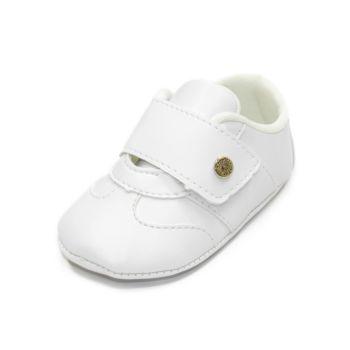 Tênis para Bebê Maguilu Mocassim Iate Branco