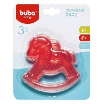 Mordedor para Bebê Buba Gelado com Água Cavalinho Rosa