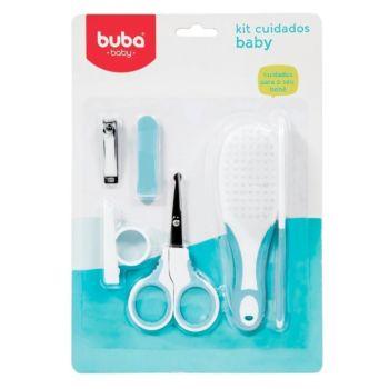 Kit Higiene Buba Cuidados para o Bebê Branco Azul