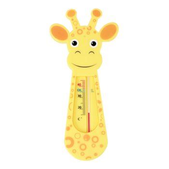 Termômetro para Banho Buba Baby Indicador Girafinha Amarelo Laranja