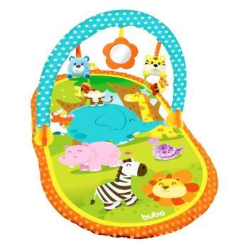 Tapete de Atividades Buba com Espelho e Brinquedos Savana