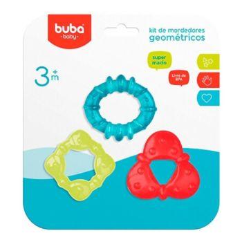 Kit 3 Mordedores para Bebê Buba Gelado com Água Sortido