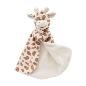 Naninha para Bebê Buba Minha Girafinha Extra Macia Marrom