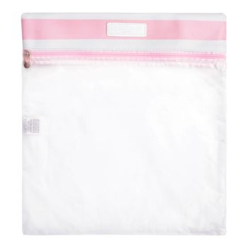 Porta Look Pirulitando Transparente Listras Rosa